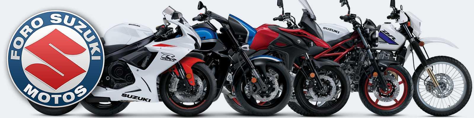Foro de motocicletas, ciclomotores y scooters de la marca Suzuki